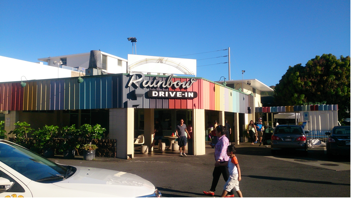 ハワイアン・ロコメニュー「レインボー・ドライブイン」が日本初上陸。お台場ヴィーナスフォート「お台場ハワイ・フェスティバル 2014」に出店。