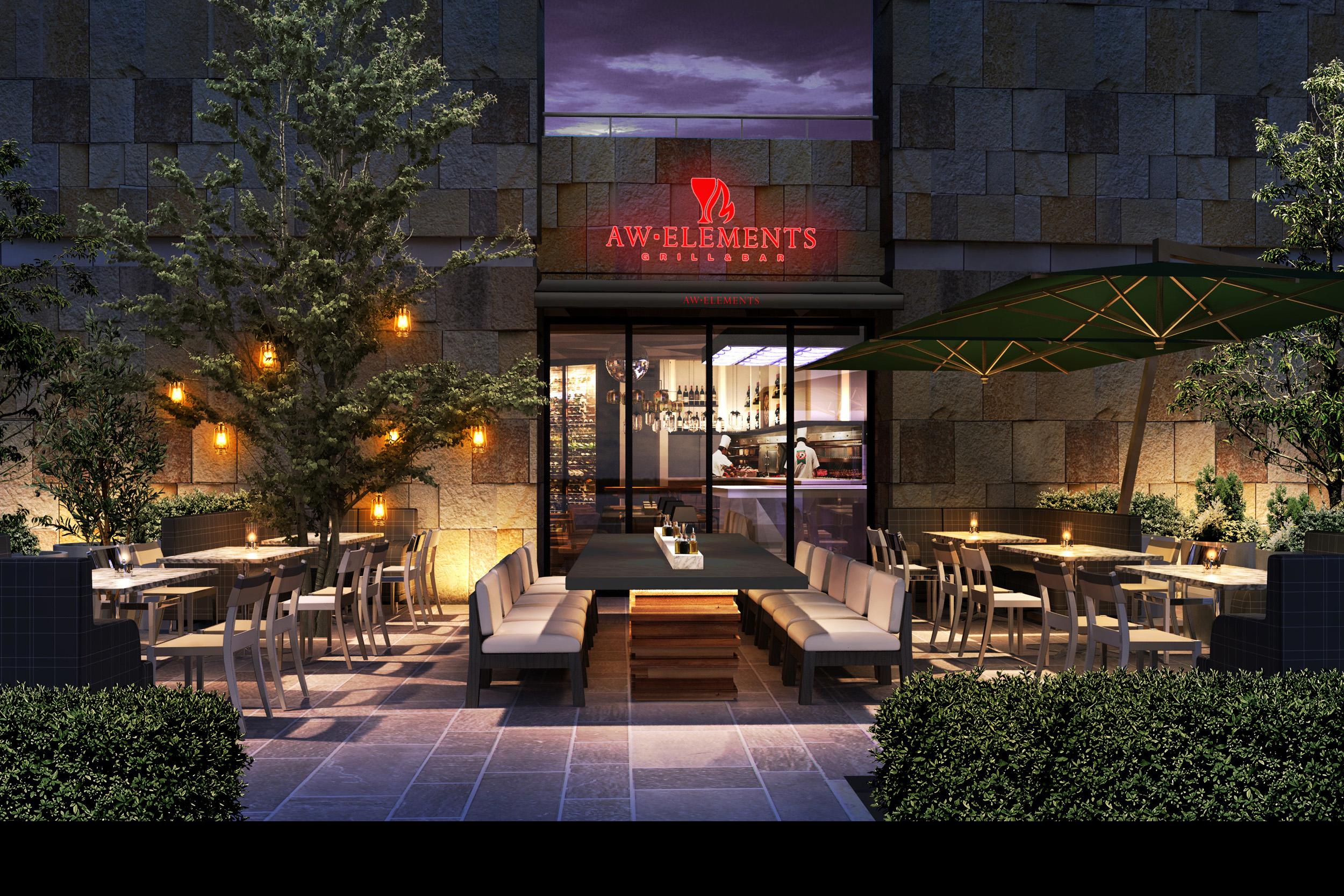 イートウォーク、六本木ヒルズに新店舗「AW ELEMENTS(エーダブリュ エレメンツ)」をオープン。