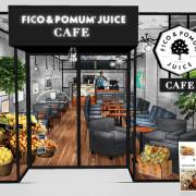 果物と野菜をテーマにヘルシーファストフードを提案するカフェブランド『FICO&POMUM JUICE』9/11青山に新店OPEN。