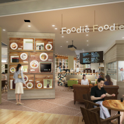 パナソニックセンター大阪2階のダイニング&カフェ「Foodie Foodie(フーディフーディ)」が11月1日リニューアルオープン。家電で作った焼きたてパンと炊きたてごはんの美味しさを満喫。