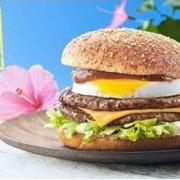 日本マクドナルド、ハワイ州観光局公認「ロコモコバーガー」を3月10日より全国で販売開始。