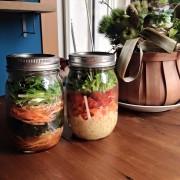 「太陽のマルシェ」、4月テーマは「春野菜 meets ジャーサラダ」。旬の春野菜やジャーが大集結。
