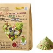 果実とグラノーラ入りの進化系ハイブリッド型スムージー「ベジエ 食べるグリーン酵素スムージー」5/15発売。