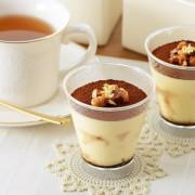 人気のティラミス専門店にカフェスペース誕生。元イタリアンシェフが旬な食材でつくる季節の創作ティラミス。