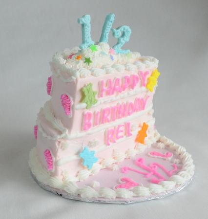 ハーフバースデー ケーキ 1