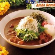 ハワイアンカフェ&ダイナー「アロハビーチカフェ」釜揚げしらすと新鮮野菜の「カレーしらす丼」提供開始。