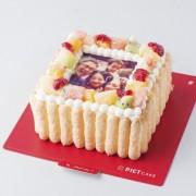 写真ケーキオーダーアプリ「PICTCAKE」カップルでも食べやすい2~4名用ミニサイズの販売を開始。