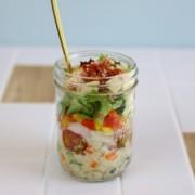自宅で注文可能、ヘルシーでお洒落なジャーサラダの専用オーダーサイト「Healthy in Cups!」オープン。
