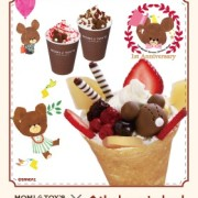 MOMI&TOY'S、くまのがっこうとのコラボ「ジャッキーのフルーツパルフェ」「ジャッキーのホットタピオカ」を発売。