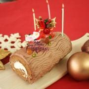 スイーツ専門店ラ・ファミーユ、糖質65%オフの「低糖質ブッシュ・ド・ノエル」を発売。