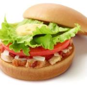 モスバーガー、朝限定バーガー「ローストチキン ゆず風味」を12/8より販売開始。