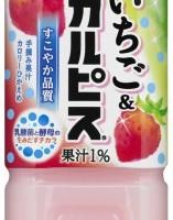 カルピス、手摘みいちごとカルピスのコラボ商品「いちご&『カルピス』」を発売。