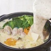 自然薯(じねんじょ)料理専門店、冬だけの「自然薯とろろ鍋」コースをスタート。