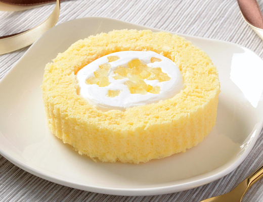 プレミアムレモンとフロマージュブランのロールケーキ