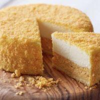 ルタオの定番チーズケーキに赤肉メロンを使った「メロンドゥーブル」が今年も登場。