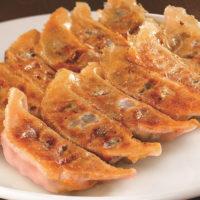 岩下の新生姜と「宇都宮餃子 豚きっき」が共同開発したピンク色の餃子が誕生。