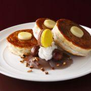 """ニューオータニ、ふわっふわで人気のパンケーキに""""カリッ""""と食感をプラスした新作提供。"""