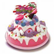 KAWAII MONSTER CAFEのメリーゴーラウンドがクリスマスケーキに、イオンで予約開始。