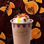 リンツ、濃厚チョコとオレンジの王道の組合せが楽しめるアイスドリンクを秋限定で発売。