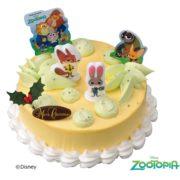 サーティワン、ズートピアのXmasケーキが初登場。ツムツムやスヌーピーも。