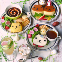 人気キャラ「カピバラさん」と東急ハンズのコラボカフェ、東京・大阪・福岡で同時開催。