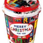 クリスマスの定番、カップタイプのチロルチョコが今年も登場。