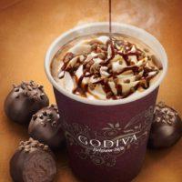 まるで飲むトリュフ、キャラメルソースを加えたゴディバ「ホットショコリキサー」冬季限定発売。