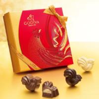 ゴディバのお年賀は「酉モチーフ」チョコレート。1月5日までの期間限定で販売。