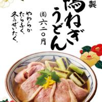 たっぷりの鴨肉と専用だしが決め手、丸亀製麺から「鴨ねぎうどん」全国発売。