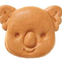ガーナチョコをとじこめた「コアラのマーチ焼」中野サンモール店のみで限定販売。