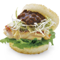 モスライスバーガー「じゃじゃ味噌チキン」が東北地域限定で復活。