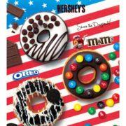 M&M'Sやオレオが乗ったクリスピー・クリーム・ドーナツ誕生。アメリカ生まれ菓子と夢のコラボ。