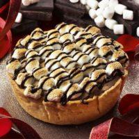 パブロのバレンタインは焼マシュマロとチョコ尽くし、2週間限定「焼マシュマロチョコチーズタルト」発売。