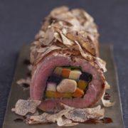 大人の節分、フォワグラを牛フィレ肉とトリュフで巻いた恵方巻などスペシャルコースがキハチに登場。