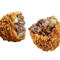 ローソンに国産黒毛和牛を使った「すき焼き」風味のコロッケが登場。