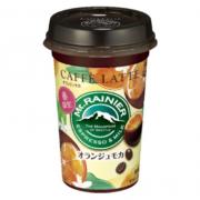 オレンジピールのチョコレートがけ「オランジェット」がコーヒーに。マウントレーニアに新作登場。