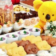 ロッテシティホテルの「コアラのマーチ」パンケーキにチョコレート味が期間限定で登場。