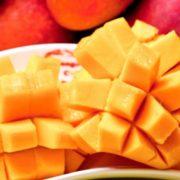 プルップルのアップルマンゴーが1時間980円で食べ放題、原宿「マンゴーチャチャ」3周年企画開催。