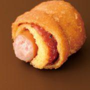 ミニストップ、フランクフルトとソースが中に入った揚げドッグ「フランクドッグ」を新発売。