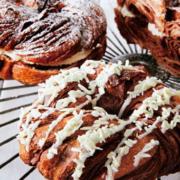 ミスタードーナツ「デニッシュドーナツ」にホワイトチョコデコレーションが登場。