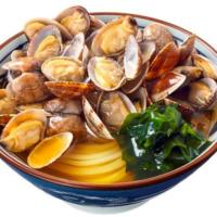 丸亀製麺、春限定「あさりうどん」発売。バター入り「あさりバター」も販売。