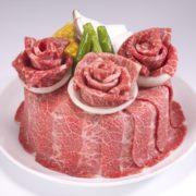 「牛角」初、全店で肉の日イベントを開催。「お祝い肉ケーキ」が290円に。