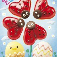 クリスピー・クリームのイースターは、真っ赤なテントウムシ。3種の限定ドーナツを発売。