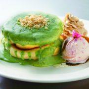 原宿の人気店「レインボ-パンケーキ」が日本橋高島屋に出店、抹茶と桜の色鮮やかなパンケーキを提供。