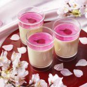 桜色のソースがかわいいパブロの「とろけるチーズプリン 桜」、数量限定で新発売。