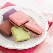 """ゴディバの「サブレショコラ」に期間限定で""""桜""""が登場。塩漬け桜とダークチョコの優雅なコントラスト。"""