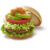 モスバーガー、アボカドとたっぷり野菜のサラダバーガーを期間限定販売。