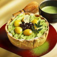 パブロ5月の季節限定は「栗と大納言の宇治抹茶チーズタルト」数量限定で発売。