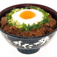 """すた丼、焼肉丼に""""とろろ""""と生玉子をぶっかけた「山かけ牛カルビ丼」を期間限定販売。"""