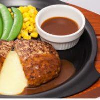 ガスト、「チーズINハンバーグ」などお得に楽しめる期間限定フェアを開催。「フォンデュ食べ」の提案も。